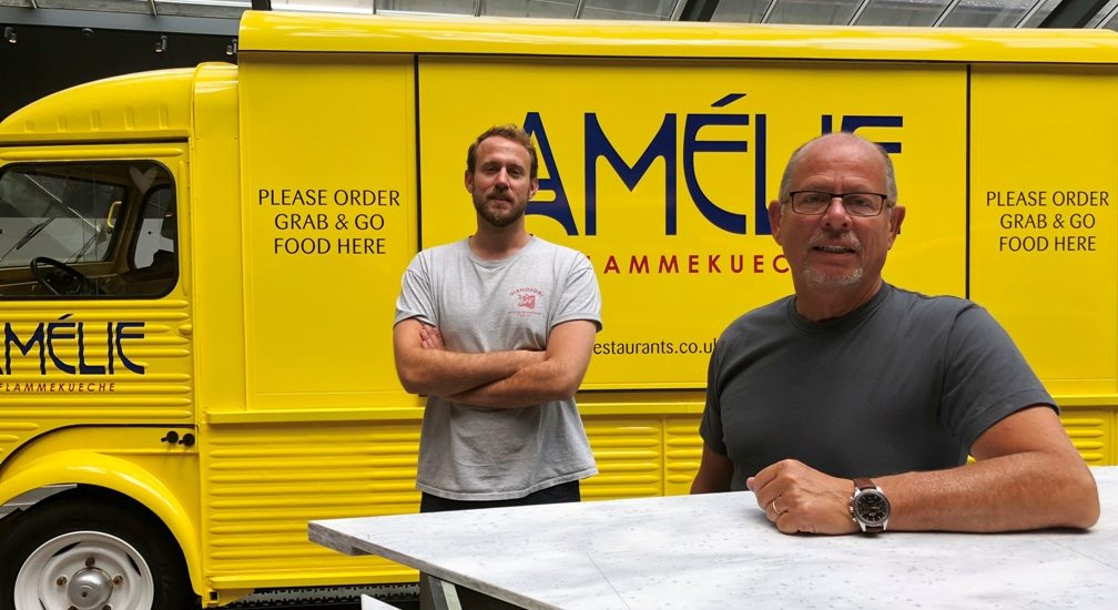 Launching Amelie Flammekueche Restaurants