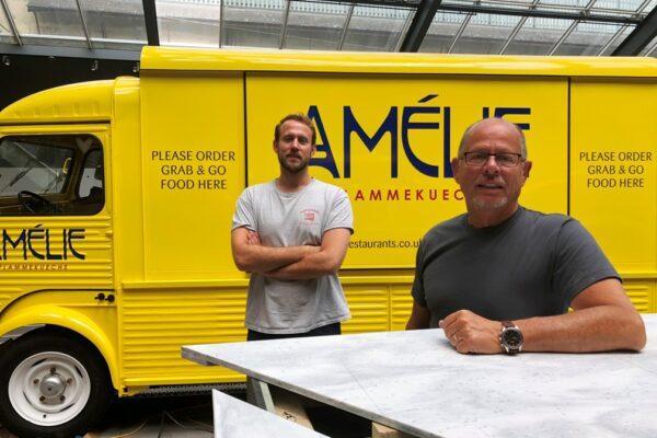 Launching Amelie Flammekueche Restaurants
