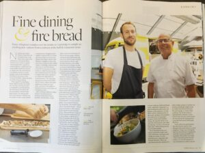 Suffolk Magazine article speaking about Amelie Restaurant in Cambridge