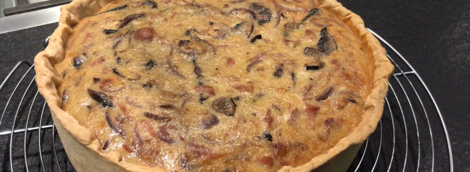 How to make the perfect French quiche