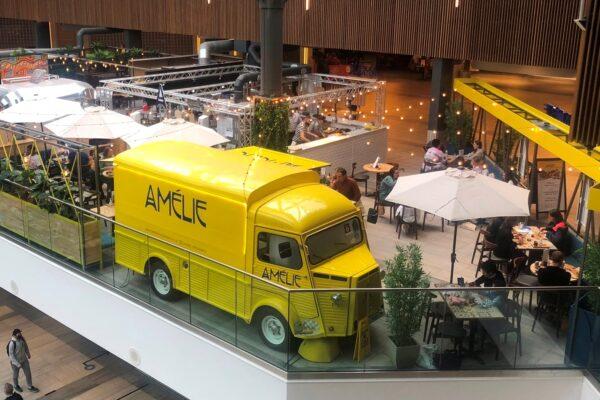 Amelie restaurant vue at the Grafton Centre